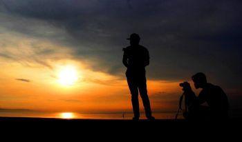 Gerhana Matahari Total di Pangandaran