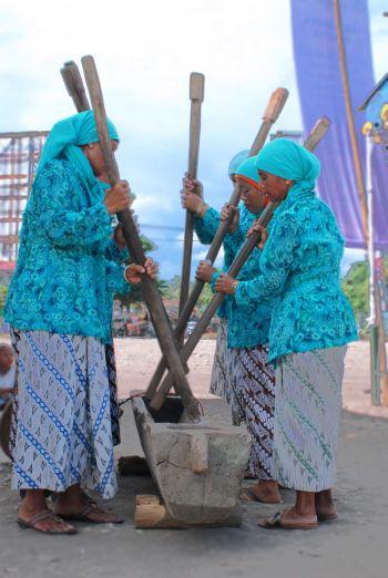 Gojeg Lesung Tradisi Yang Hampir Punah di Pangandaran