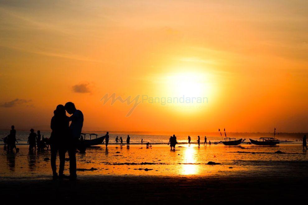 I Love Sunset Pangandaran Beach