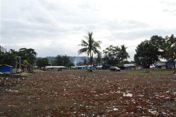 Lahan Parkir dan Percontohan Relokasi Pedagang di Pananjung Sari