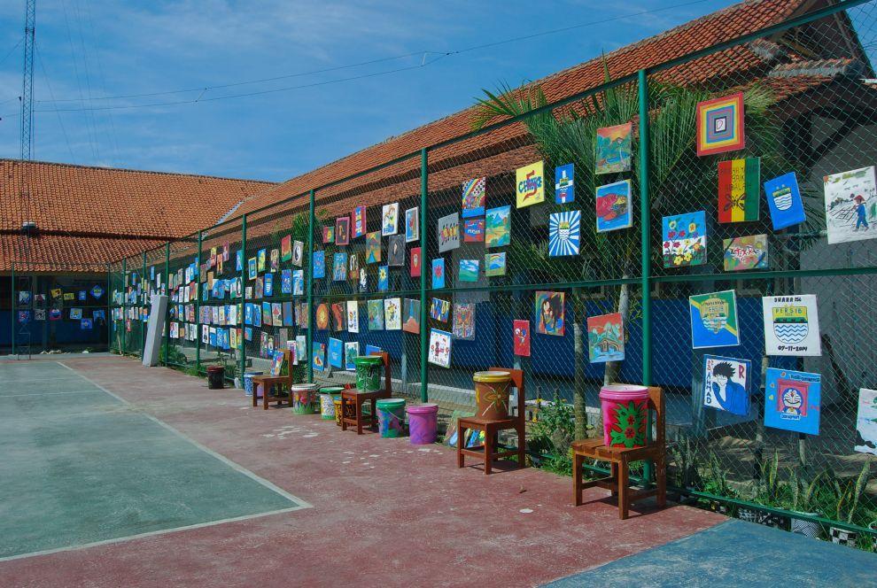 Pameran Lukisan SMK N 1 Pangandaran