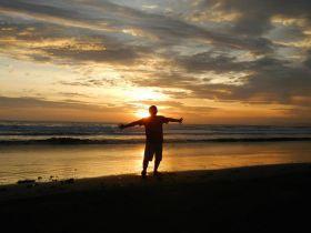 Pangandaran Sunset Hari Ini
