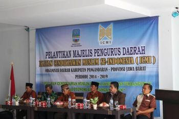 Pelantikan Pengurus Daerah ICMI 2014