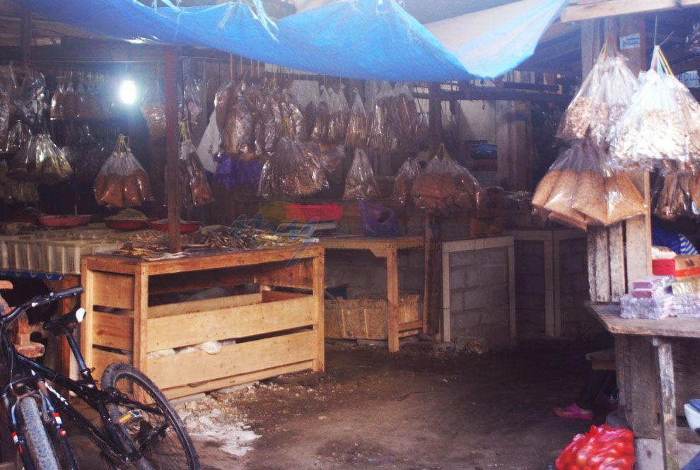 Pusat Ikan Asin Di Pasar Pangandaran