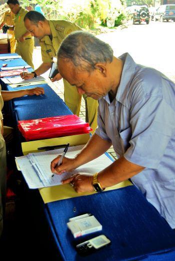 Sosialisasi Penataan dan Pengisian Anggota DPRD Kabupaten Pangandaran 2014