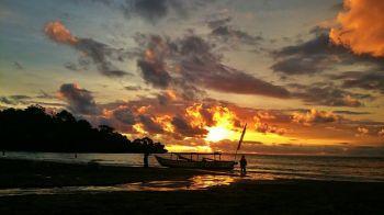 Indanya Sunset Pangandaran