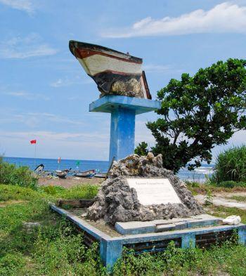 Tugu Tsunami Singkil Bulak Benda Dusun Madasari