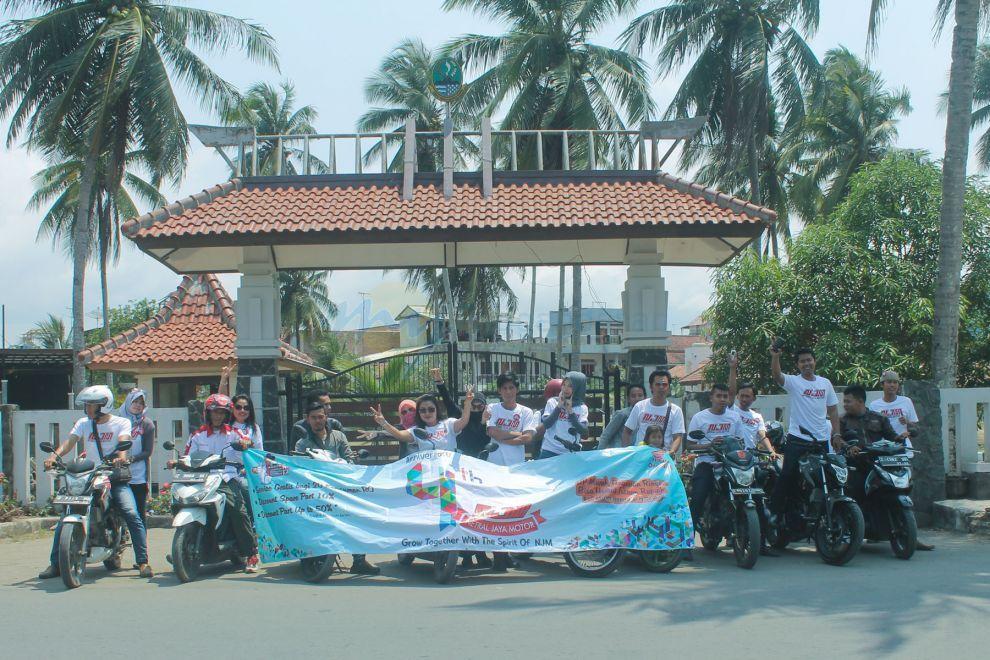 Ulang Tahun Netral Jaya Motor Pangandaran