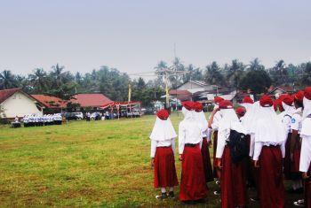 Upacara Peringatan Hari Guru Nasional 2013
