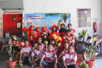 Donor Darah PT. Netral Jaya Motor Pangandaran 2014