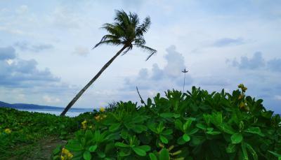 Indahnya Pemandangan Pantai Bulak Setra Pangandaran
