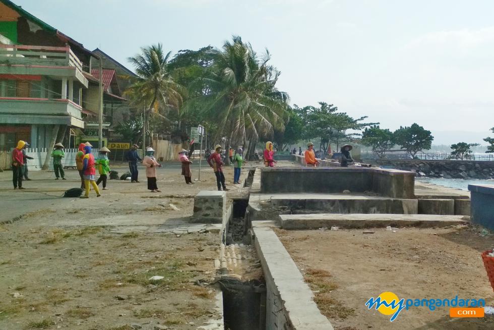 Penarik Jaring Nelayan Tradisional