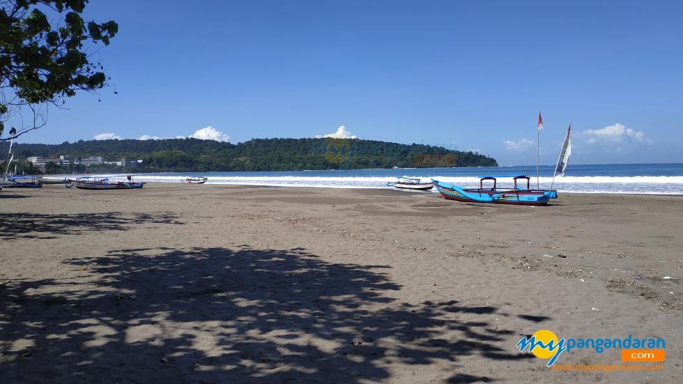 Potret Pantai Pangandaran Hari Ini