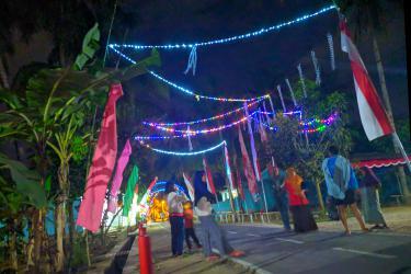Viral, Jalan Kampung Jadi Lokasi Selfie