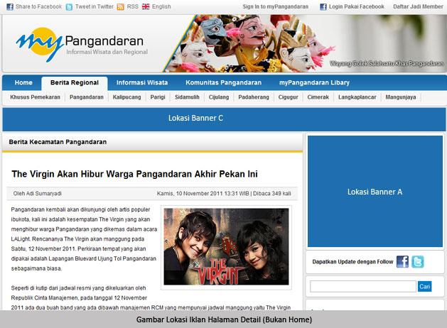 Lokasi Iklan myPangandaran